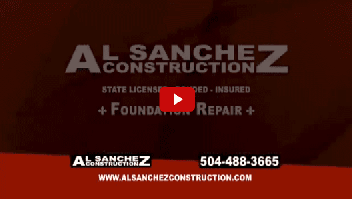 Video - foundation repair New Orleans